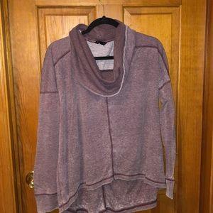 Lucky brand cowl neck sweatshirt